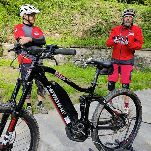 Mountain bike intro - Photo